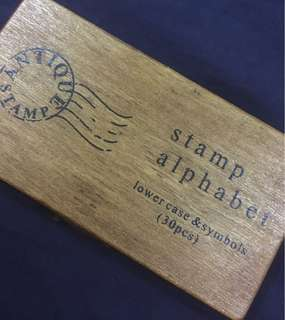 Stamp Alphabet