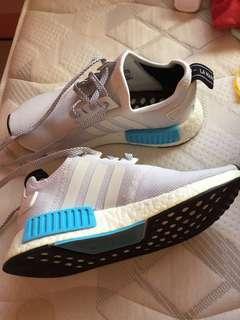 Adidas NMD bright cyan