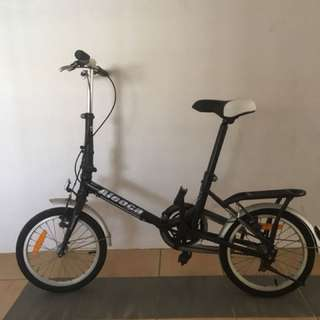 Aleoca foldable bicycle