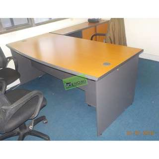 L TYPE OFFICE TABLE MOBILE PEDESTAL CABINET SIDE CABINET
