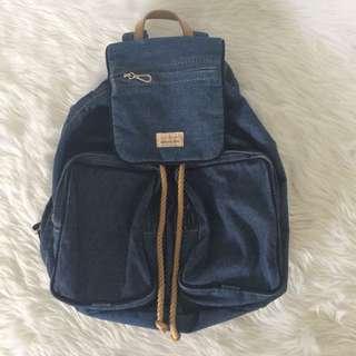 Denim Back Pack