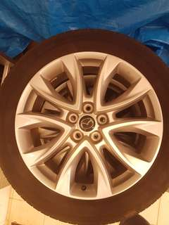 "19"" Alloy Wheels from CX5"
