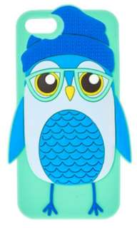 Blue Cute Owl Case for iPhone 5/5s/se