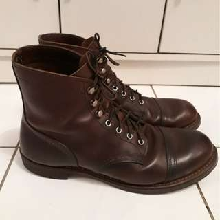Red Wing Shoes Iron Ranger 8111 Amber