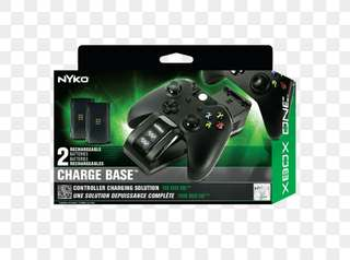 Nyko Charge Base For Xbox One with 2x Rechargable Batteries