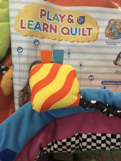 Fiffy Play & Learn Quilt (New)
