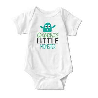 Baby Statement Onesies - Little Monster