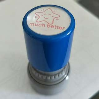 [much better] self-inking stamp
