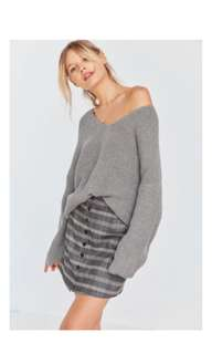 Urbanoutfitters bdg sweater in gray xs