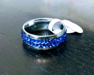 New Stainless Steel Ring, Size 12