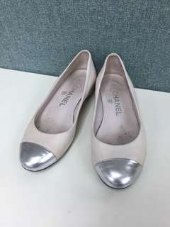 Chanel flat shoes Sz 35