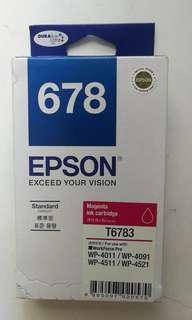 Epson Printer Color Cartridges T6782/6783/6784