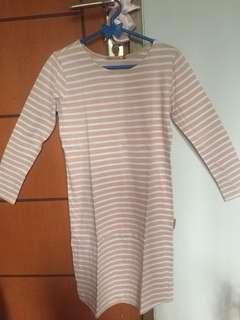 Dress Kaos Garis2