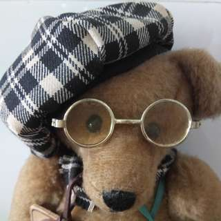 Robin Rive Algernon bear (Handmade in New Zealand)