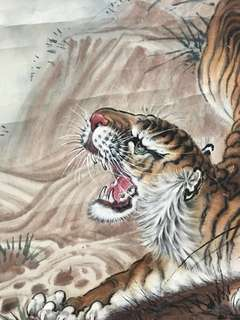 Chinese Art Painting - Tiger