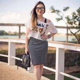 terno OFF-SHOULDER TOP +dress