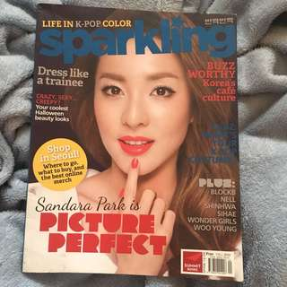 Sparkling Magazine(Dara & Bigbang Cover)