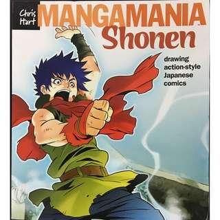 Mangamania Shonen, Drawing Action Style Japanese Comics