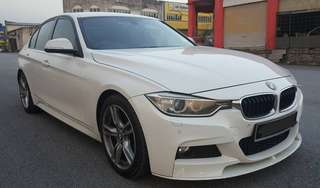 SAMBUNG BAYAR/CONTINUE LOAN  BMW F30 328i FULLSPEC TWIN TURBO YEAR 2013 MONTHLY RM 2900 BALANCE 4 YEARS 4 MONTHS ROADTAX OCT 2018 TIPTOP CONDITION  DP KLIK wasap.my/60133524312/f30