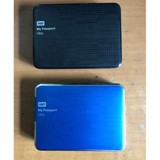 External Hard Disk Drive 2 GB USB 3.0 Western Digital My Passport Ultra