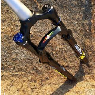 💯🆕New Arrival: X-Fusion X32 EVO Suspension fork with black stanchion compatible with 26er/27.5er/29er