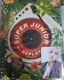 Super Junior SJ Replay 特別版