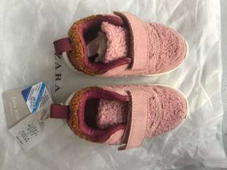 Zara Baby Shoes 9-18mos