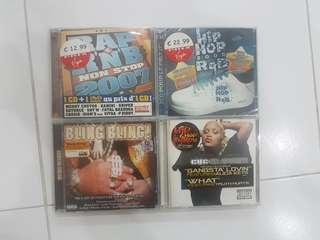 CD Music - R&B / HipHop Songs