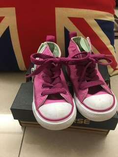 🚚 Converse女童高筒鞋