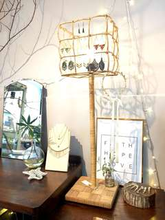Cool Vintage Cane Lamp