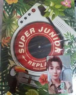 Super Junior SJ Replay 特別版