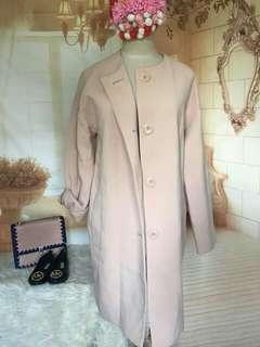 Old rose korean coat
