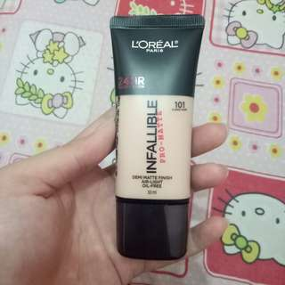 FOUNDATION LOREAL INFALLIBLE PRO MATTE