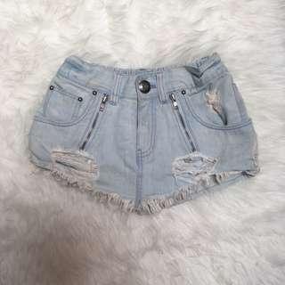 Mini Skirt Pants