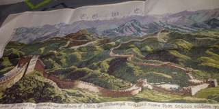 Great Wall of China-cross stitch