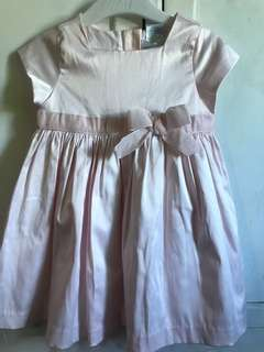 Ralph lauren dress baby pink color