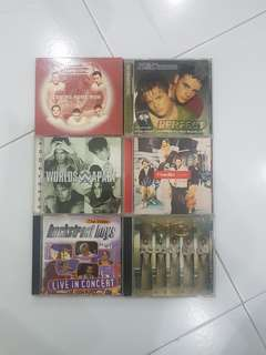 CD Music - Boy Bands Songs