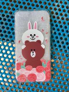 iPhone Case 手機殼 Brown & Cony @Line Friends 熊大 兔兔 6/6s
