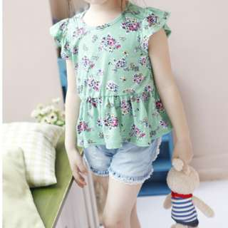 BVGT006 Girl Sweet Back Ribbon Top
