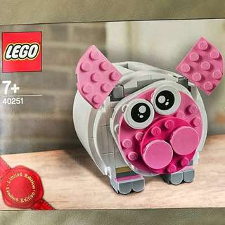 Lego 樂高玩具限量版 3-in-1 Mini Piggy Bank Toys (limited Edition)