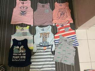 H&M shirt for boy( rm15 each)