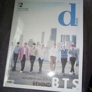 SEALED BTS DICON MAGAZINE WITH PHOTOCARDS AND POSTCARDS