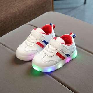 2 Stripes LED Shoes (2Y - 7Y)