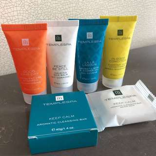 Templespa Amenities travel set