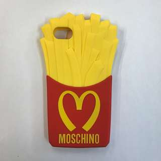 【正版】Moschino iPhone SE 薯條機殼
