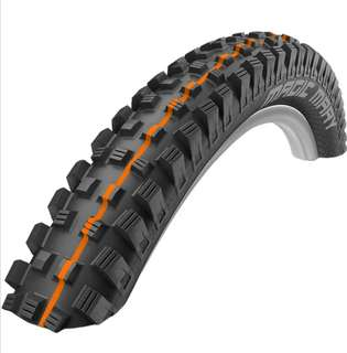 🆕! Schwalbe 26 X 2.35 Magic Mary Orange Addix MTB Tyre - SuperGravity Tubeless Ready  ( Price for 2 TYRES )   #OK