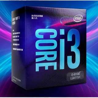 Intel Core i3 8100 4C4T