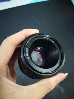 Nikon 50mm 1.8D
