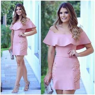 Off Shoulder Elegant Dress