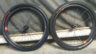 Novatec Factor 129 carbon wheelset 29er